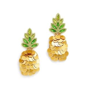♠️ Kate Spade ♠️  By the Pool Pineapple Studs